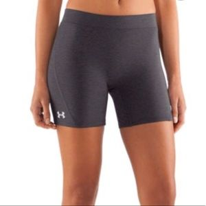 Under Armour grey compression shorts